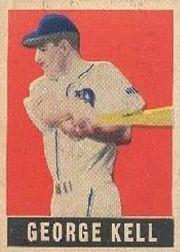 1949 Leaf #120 George Kell SP RC