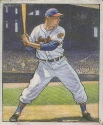 1950 Bowman #7 Jim Hegan