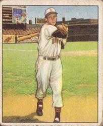 1950 Bowman #16 Roy Sievers RC