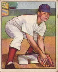 1950 Bowman #26 Grady Hatton