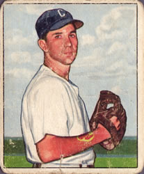 1950 Bowman #38 Bill Wight RC