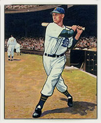 1950 Bowman #41 Hoot Evers