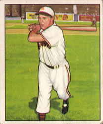 1950 Bowman #50 Dick Kokos