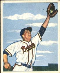 1950 Bowman #73 Willard Marshall