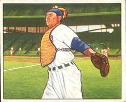 1950 Bowman #78 Mickey Owen