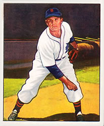 1950 Bowman #96 Virgil Trucks