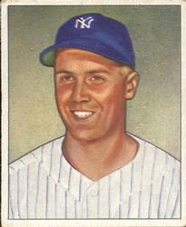 1950 Bowman #101 Bobby Brown