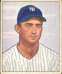 1950 Bowman #102 Billy Johnson