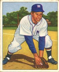 1950 Bowman #107 Sam Dente RC