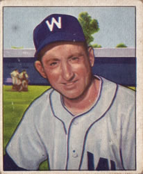 1950 Bowman #108 Ray Scarborough front image