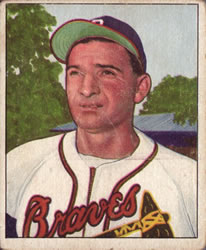 1950 Bowman #109 Sid Gordon