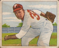 1950 Bowman #120 John Thompson