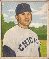 1950 Bowman #127 Dave Philley