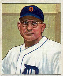 1950 Bowman #134 Paul Trout