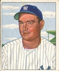 1950 Bowman #139 Johnny Mize