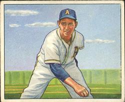 1950 Bowman #141 Joe Coleman RC