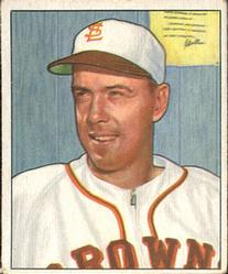 1950 Bowman #145 Jack Graham RC