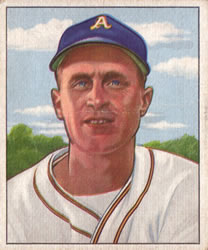 1950 Bowman #159 Joe Tipton