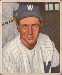 1950 Bowman #160 Mickey Harris