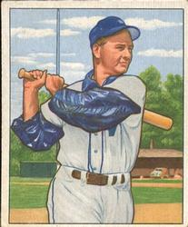 1950 Bowman #161 Sherry Robertson RC
