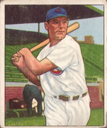 1950 Bowman #169 Hank Edwards