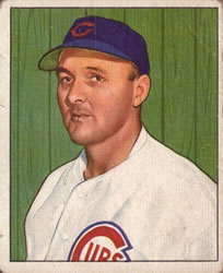 1950 Bowman #170 Dutch Leonard