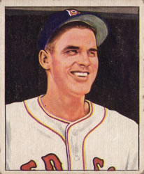 1950 Bowman #188 Earl Johnson