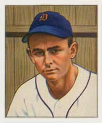1950 Bowman #210 Ted Gray