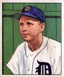 1950 Bowman #212 Jerry Priddy
