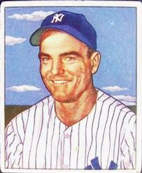 1950 Bowman #218 Cliff Mapes RC