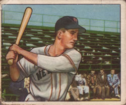 1950 Bowman #221 Don Mueller RC