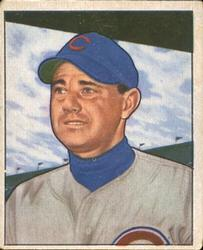 1950 Bowman #230 Bill Serena RC
