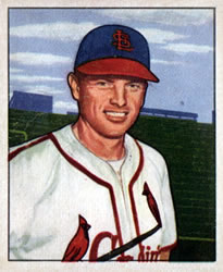 1950 Bowman #239 Bill Howerton RC
