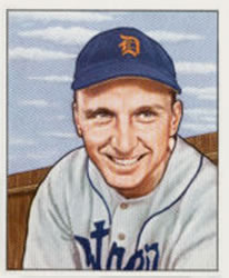 1950 Bowman #242 Dick Kryhoski