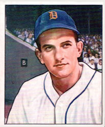 1950 Bowman #243 Johnny Groth RC