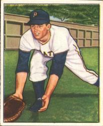 1950 Bowman #244 Dale Coogan RC
