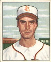 1950 Bowman #252 Billy DeMars RC
