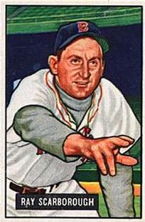 1951 Bowman #39 Ray Scarborough front image