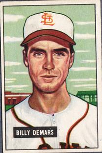 1951 Bowman #43 Billy DeMars