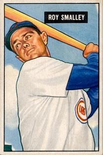 1951 Bowman #44 Roy Smalley
