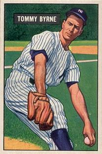 1951 Bowman #73 Tommy Byrne RC
