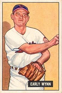 1951 Bowman #78 Early Wynn