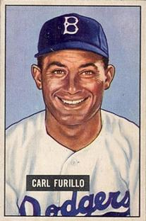 1951 Bowman #81 Carl Furillo