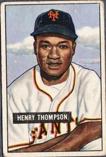 1951 Bowman #89 Hank Thompson