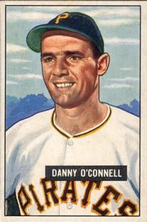 1951 Bowman #93 Danny O'Connell RC