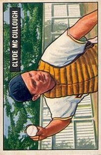 1951 Bowman #94 Clyde McCullough