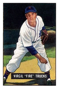 1951 Bowman #104 Virgil Trucks
