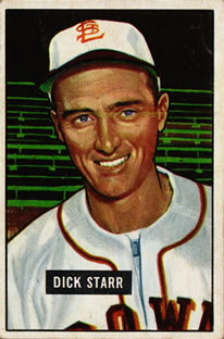1951 Bowman #137 Dick Starr