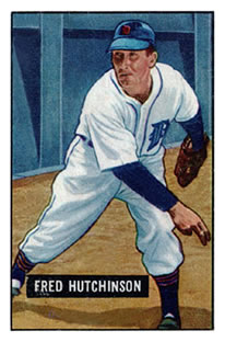 1951 Bowman #141 Fred Hutchinson