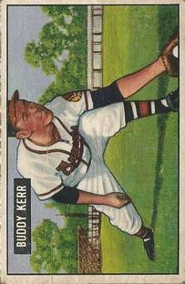 1951 Bowman #171 Buddy Kerr